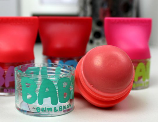 Baby Lips Balm & Blush - odtieň Innocent Peach