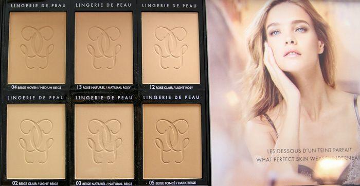 Guerlain Lingerie de Peau Nude Powder Foundation, Zdroj: Mostlysunnyblog.com, cit. 16.10.2014 (http://goo.gl/tCrRiN)