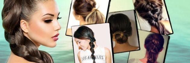 Rýchly účes pre dlhé vlasy na 5 spôsobov