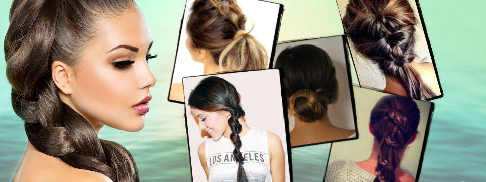 Rýchly účes pre dlhé vlasy na 5 spôsobov - Selfino 963d169a12a