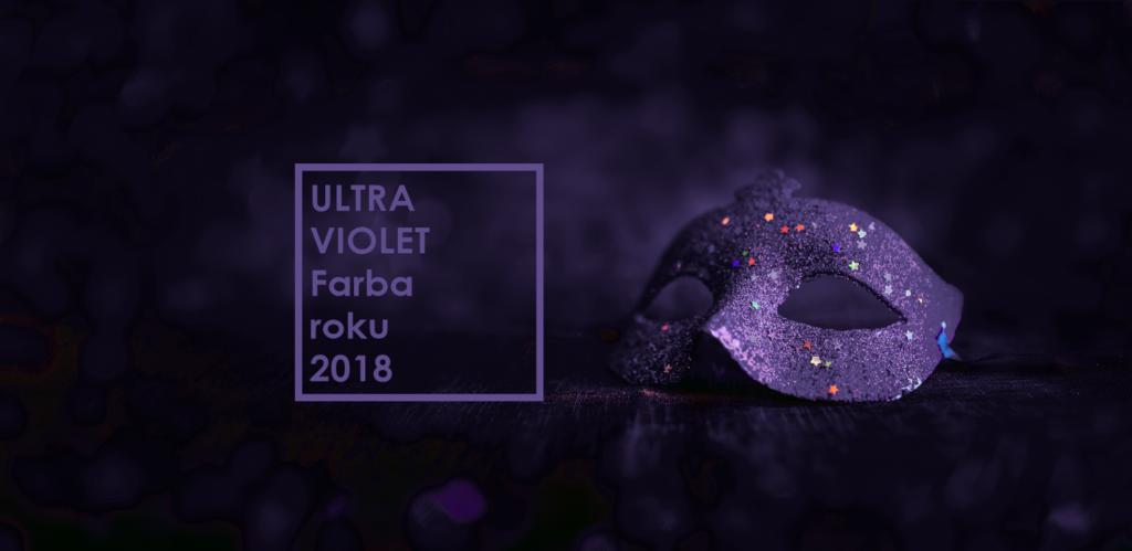 Ultra Violet - nová farba pre rok 2018