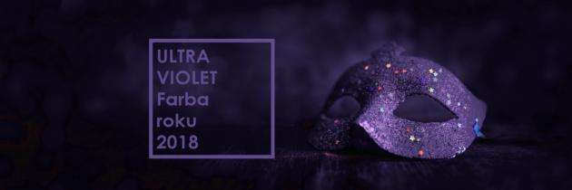 Ultra Violet – nová farba pre rok 2018