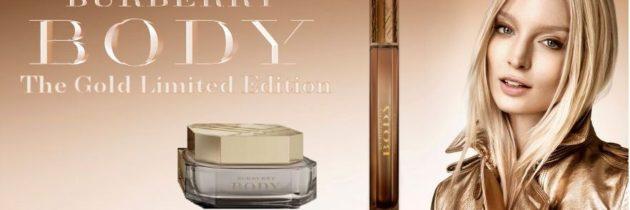 Burberry a limitovaná edícia Body Gold
