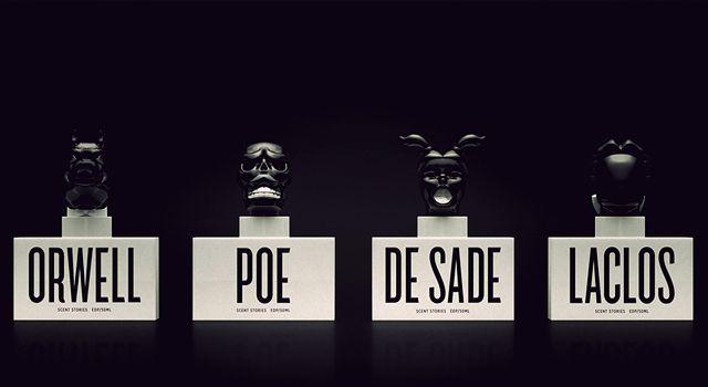 George Orwell - Zvieracia farma a parfumy inšpirované týmto dielom; Zdroj: http://www.sue-ding.com (http://bit.ly/1GNZJWr)