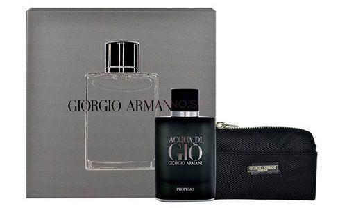 Vianočný darček Giorgio Armani Acqua di Gio Profumo a peňaženka