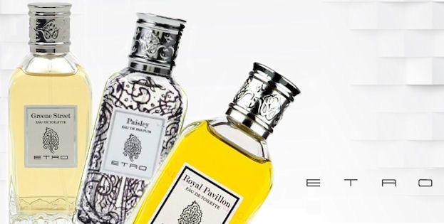 Niche parfumy Etro Greene Street, Paisley, Royal Pavillon dostupné v obchode Elnino.sk