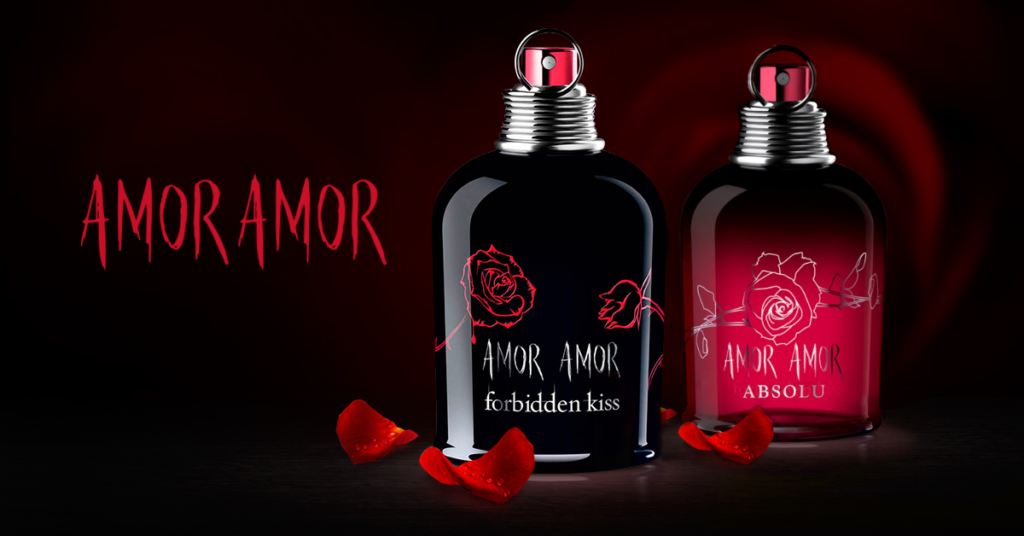 Cacharel Amor Amor Forbiden Kiss a Amor Amor Absolu