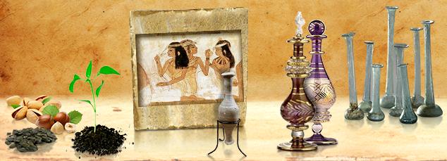 Parfumy a ich voňavá cesta v čase od doby kamennej cez Staroveký Egypt, Rím, Orient až po súčasnú dobu