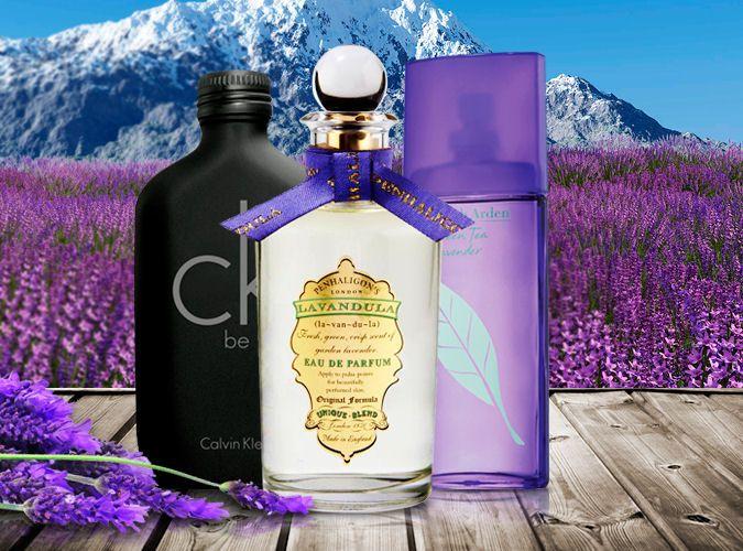 Levanduľa - CK Be, Penhaligon´s Lavandula a Elizabeth Arden Green Tea Lavender, všetky vône na Elnino.sk