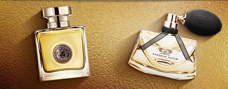 Bvlgari a Versace - elegancia v zlatom šate