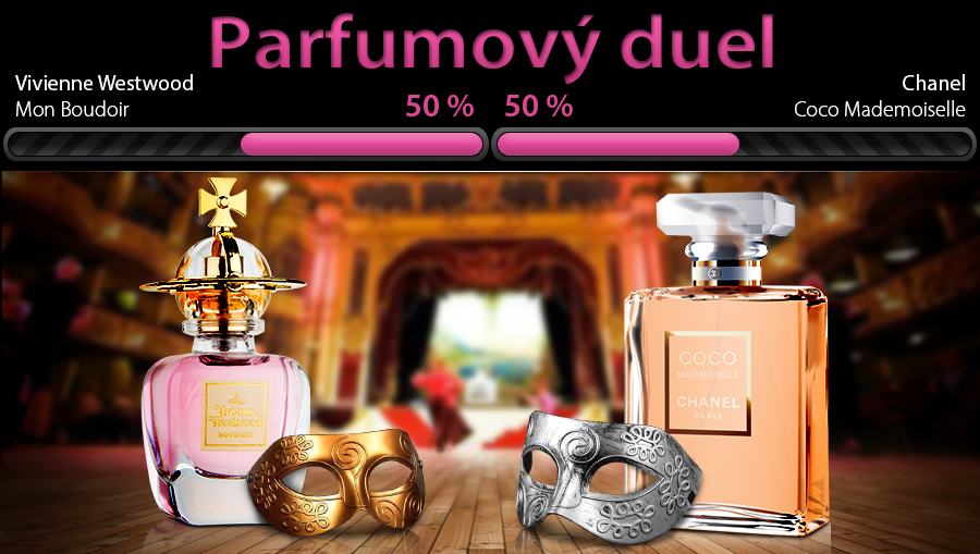 Parfum na ples ako Vaše druhé JA