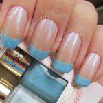 Niečo modré - francúzska manikúra nevesty, Zdroj: Blog-jahlove.de (http://goo.gl/AoK37p)