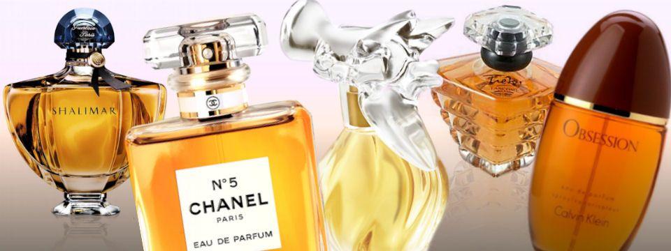Legendárne parfumy alebo vôňa úspechu: Guerlain Shalimar, Chanel No. 5, Nina Ricci L'Air du Temps, Lancome Tresor a Calvin Klein Obsession, všetky na Elnino.sk