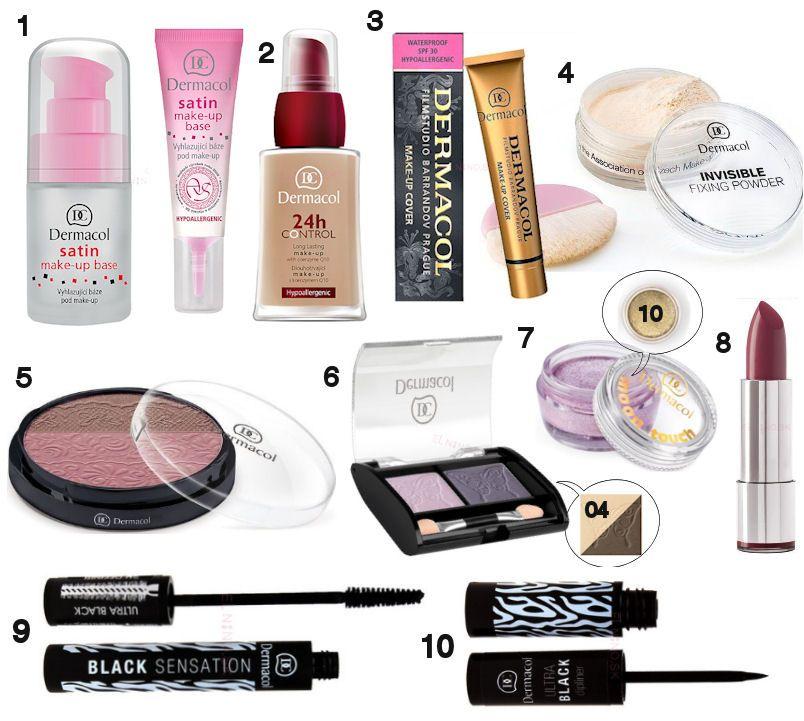 Dermacol produkty na líčenie dostupné na Elnino.sk