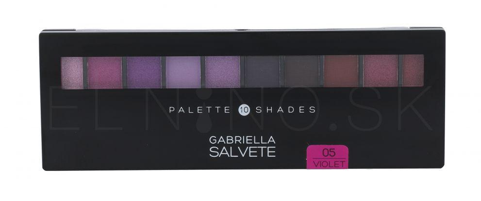 Gabriella Salvete Palette 10 Shades, Odtieň: 05 Violet