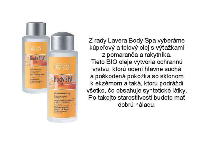 Lavera Body Spa - telový a kúpeľový olej pomaranč-rakytník z ponuky obchodu Elnino.sk