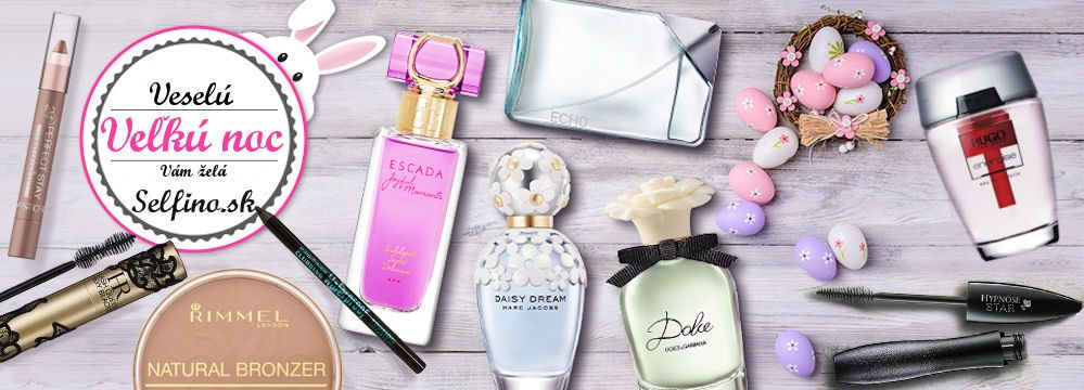 Veľkonočná nádielka kozmetiky a vôní