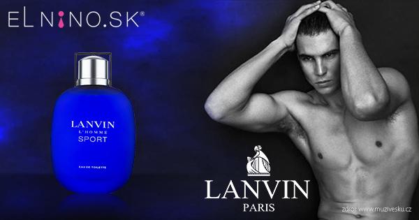 Pánska vôňa Lanvin L Homme Sport - iná pánska vôňa z ponuky Elnino.sk