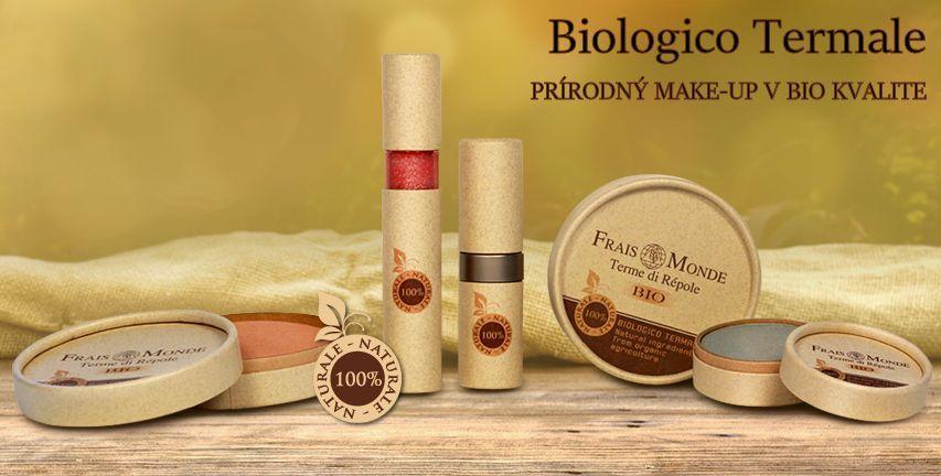 BIO dekoratívna kozmetika Biologico Termale