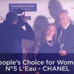 Ocenenie vône Chanel No 5 L'Eau