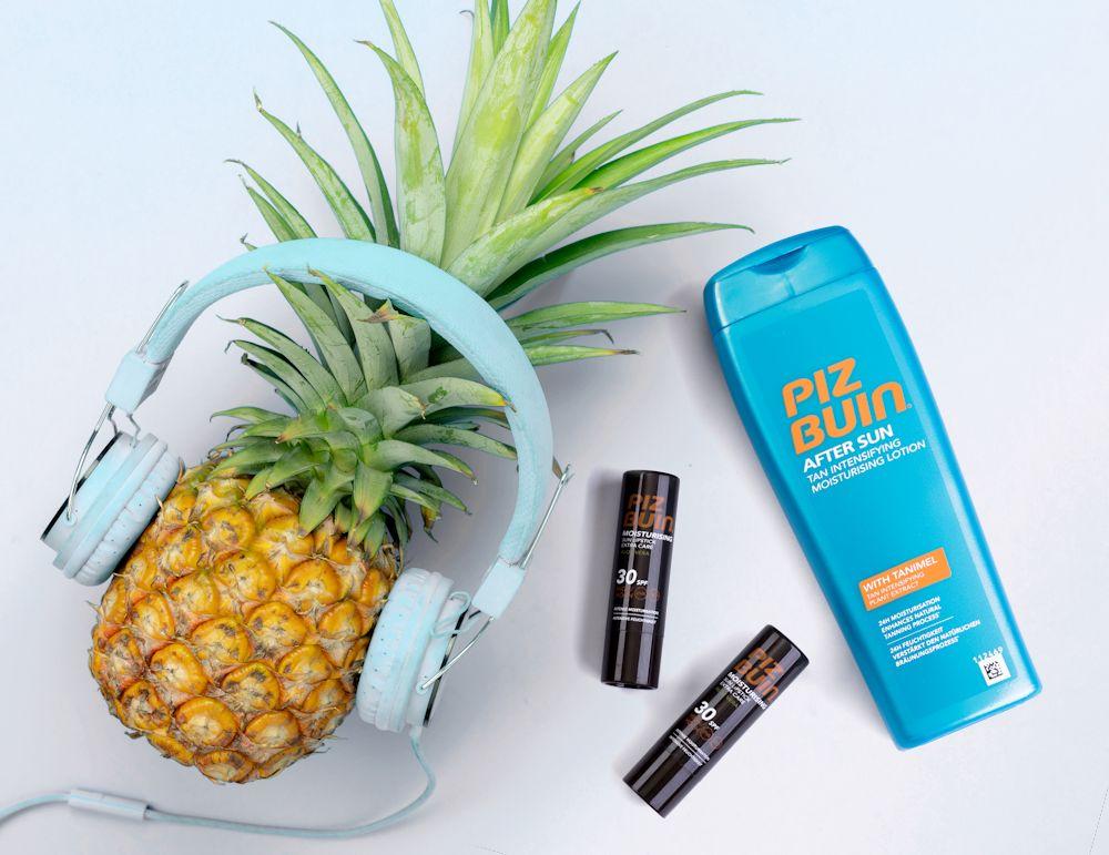 Piz Buin slnečná kozmetika pre pokojné leňošenie pri hudbe