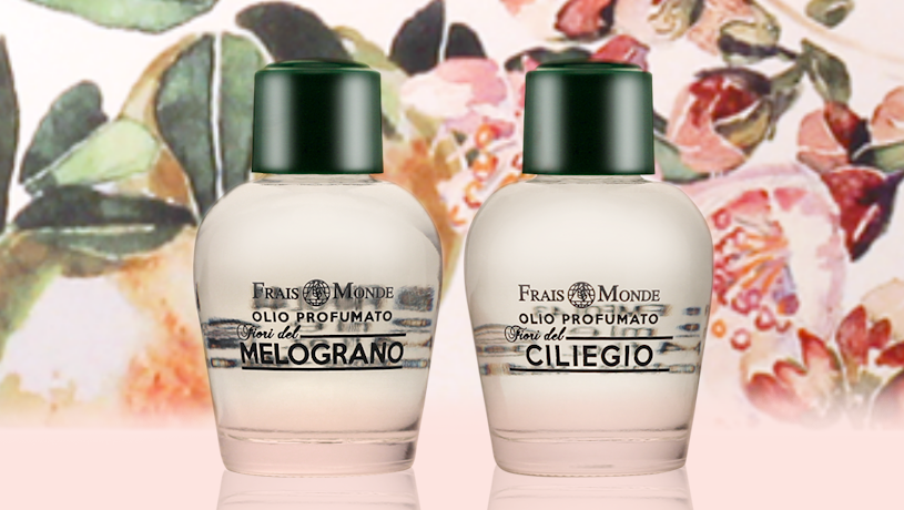Parfumovaný olej Pomegranate Flowers a Cherry Blossoms