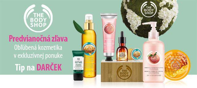 Obľúbená kozmetika The Body Shop super ceny