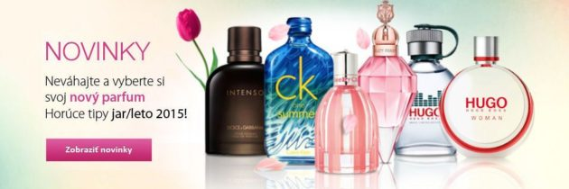 Novinky vo voňavom svete parfumov