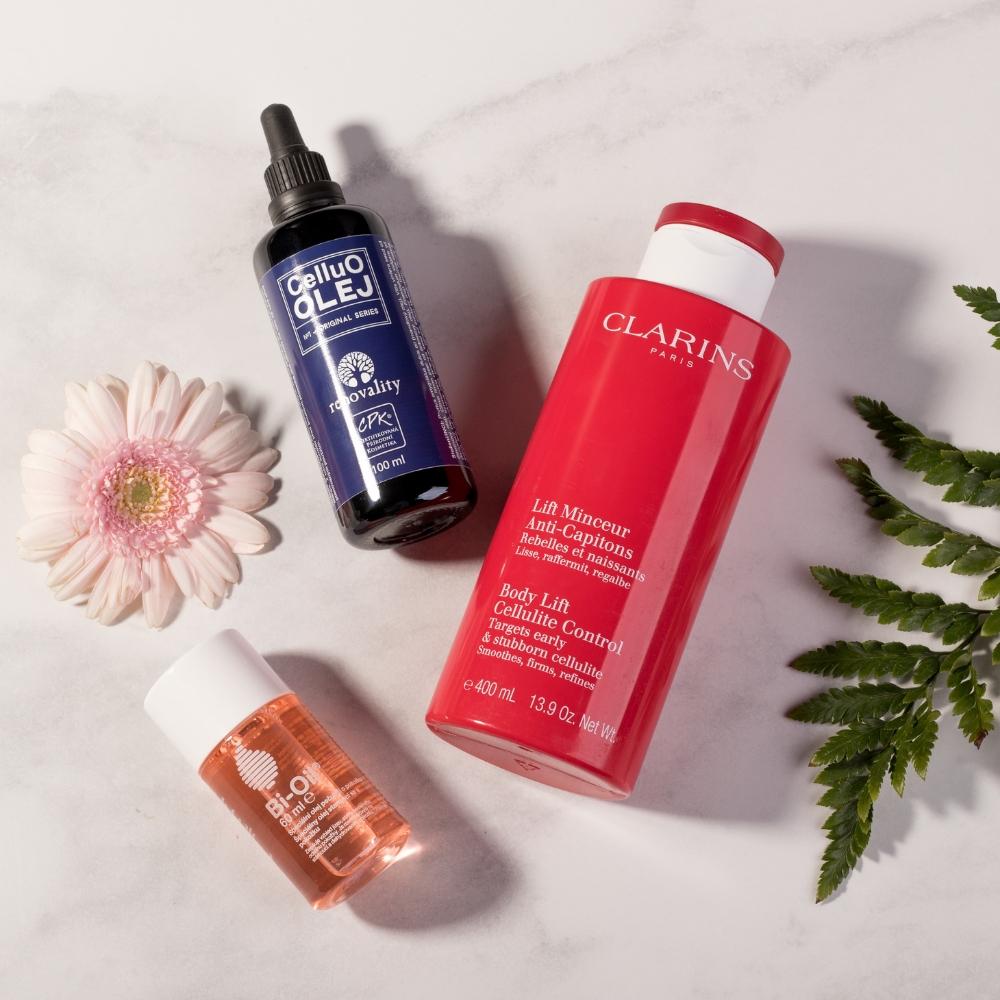 Najlepšia telová kozmetika pre pevnú pokožku - Renovality, Clarins a Bi-Oil