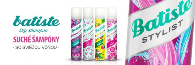 Batiste – suchý šampón a jednotka na trhu