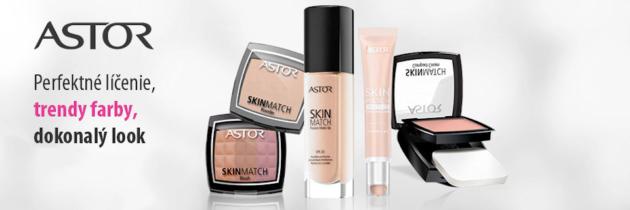 Kozmetika Astor pre perfektné líčenie