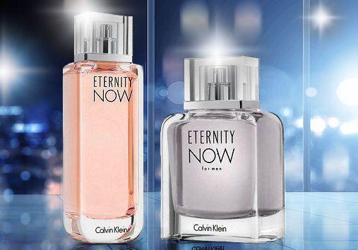 Dámsky a pánsky parfum Calvin Klein Eternity Now, obidva zakúpite v e-shope Elnino.sk