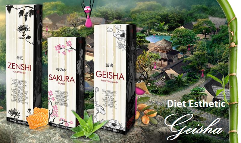 Diet Esthetic a nový rad Geisha na Elnino.sk