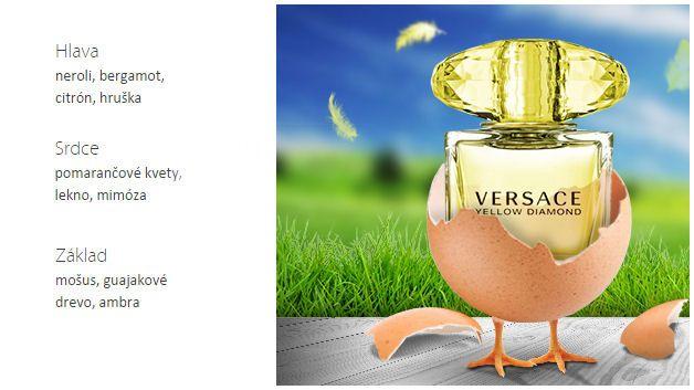 Versace Yellow Diamond EdT na Elnino.sk
