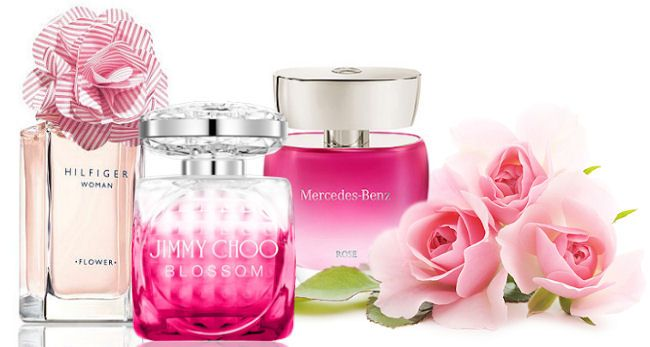 Ružové parfumy Tommy Hilfiger, Jimmy Choo a Mercedes-Benz
