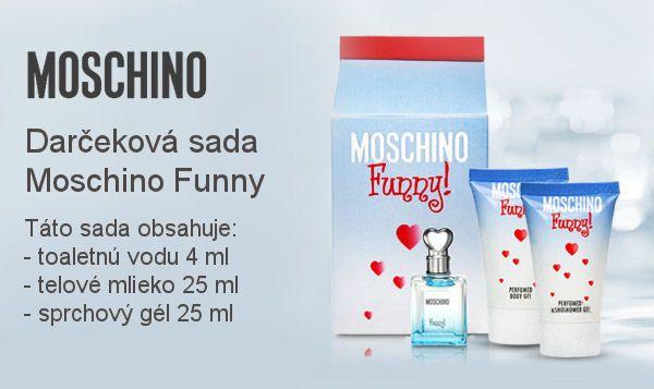 Jarná súťaž prináša trom výhercom darčekové sety Moschino Funny