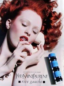 Reklama na Yves Saint Laurent Rive Gauche (2004), zdroj: http://bit.ly/1DuF3Ts