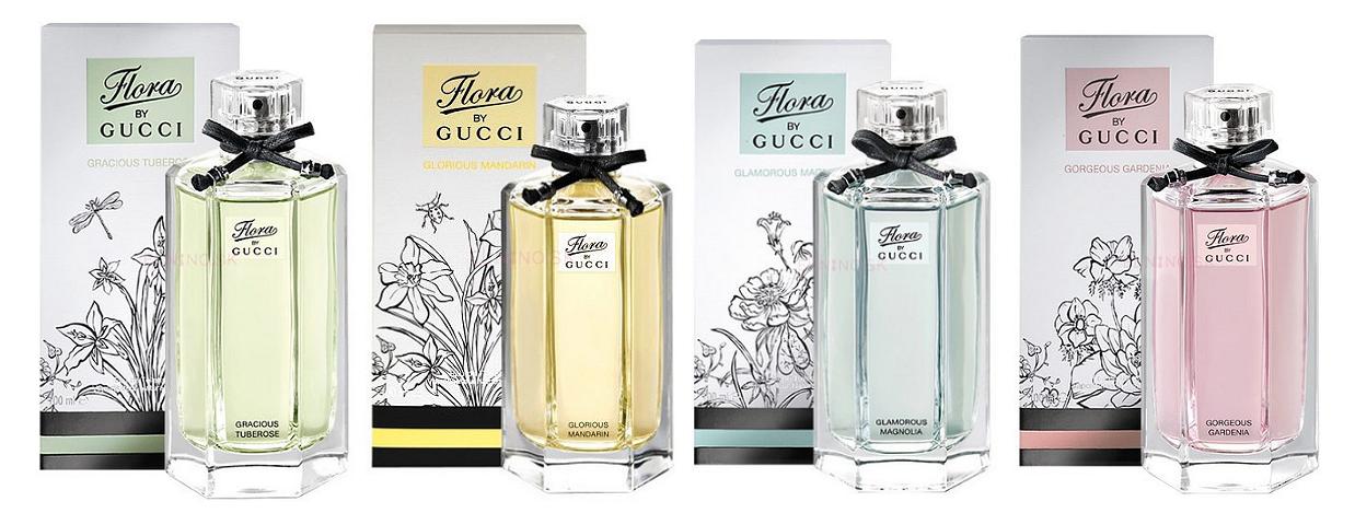 Elegancia kvetov Flora by Gucci a zbierka vôní