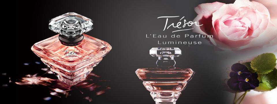Nový parfum Lancôme Trésor L'Eau de Toilette