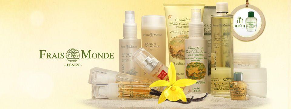 Parfumovaný olej s vôňou vanilky ako darček