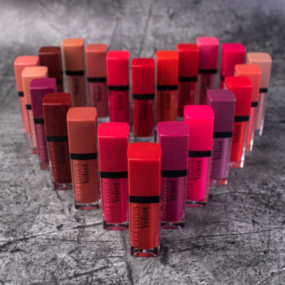 BOURJOIS Paris Rouge Edition Velvet matné rúže