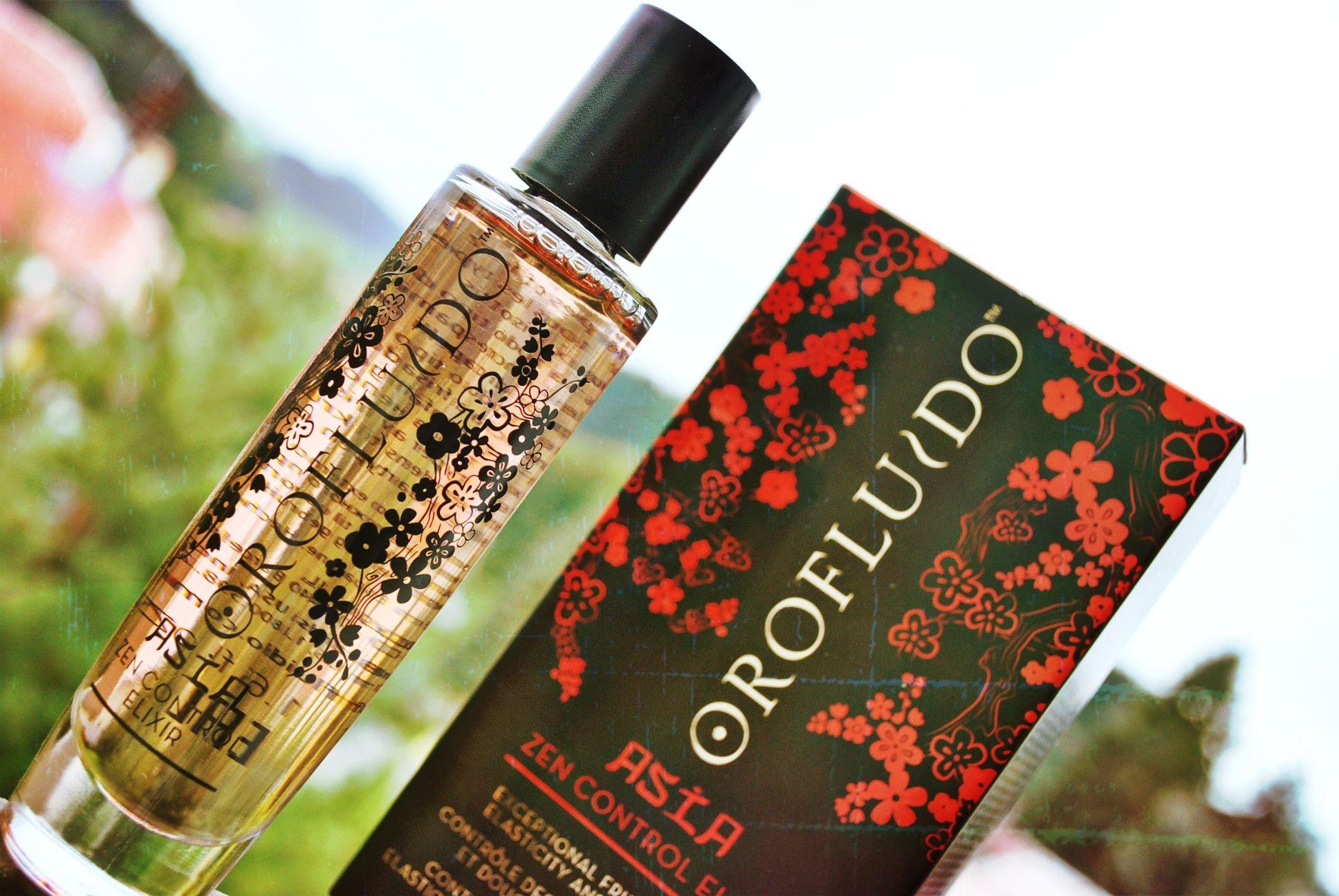 elixír pre vlasy Orofluido Asia Zen Control Elixir
