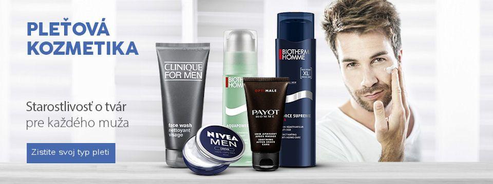 Pánska pleťová kozmetika, akú si zaslúžite