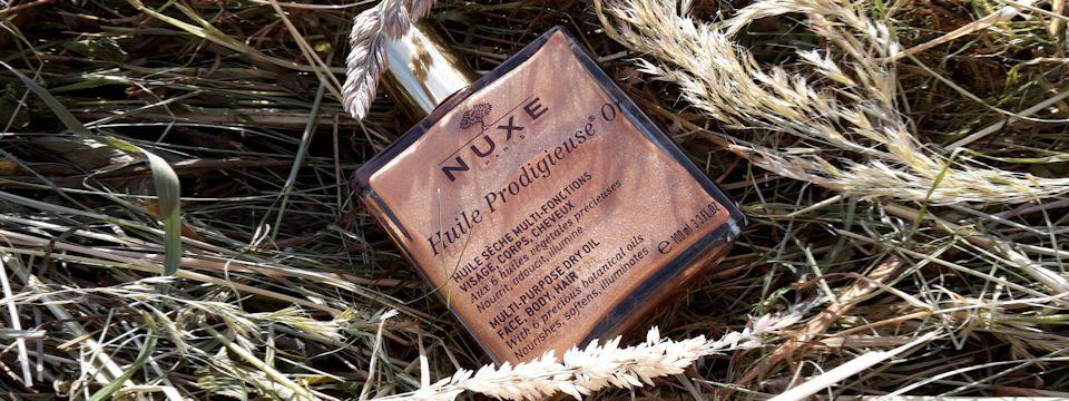 Suchý olej NUXE Huile Prodigieuse Or aj v našich končinách