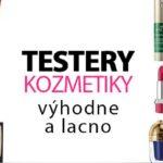 Akcia na Elnino.sk - kozmetické testery s 10 % zľavou!