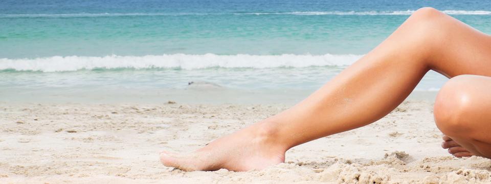 Nohy perfektne pripravené na horúce leto