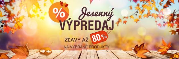 Kultové produkty najlacnejšie – jesenný výpredaj Elnino.sk