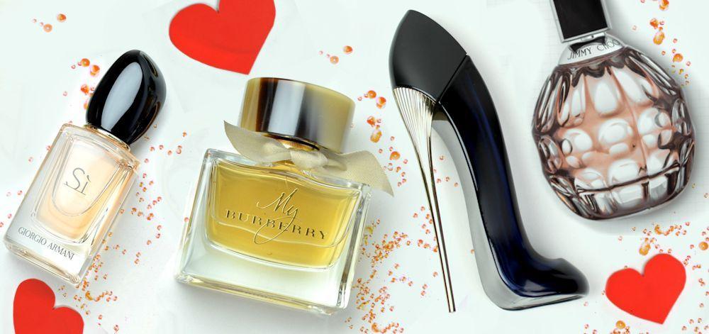 Dámske parfumy (nielen) na Valentína