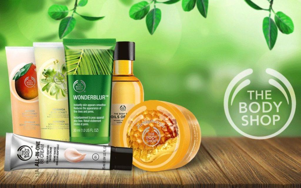 Kosmetika The Body Shop #vegan #crueltyfree #parabenfree