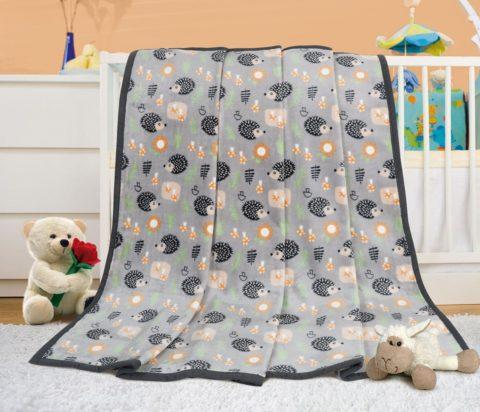 Dětská deka ježeček